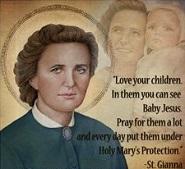 Saint Gianna Beretta Molla Prayer - Patroness of pregnant women