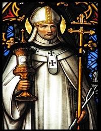 St  Walter Prayer, Patron saint of prisoners of war, wine