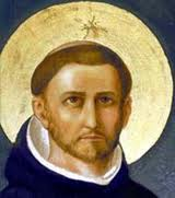 Saint Dominic the Lord is with thee